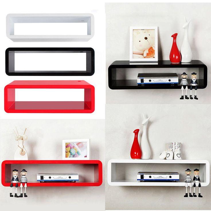 50 best wall mounted shelves images on pinterest shelf wall bookshelves and wall mounted. Black Bedroom Furniture Sets. Home Design Ideas