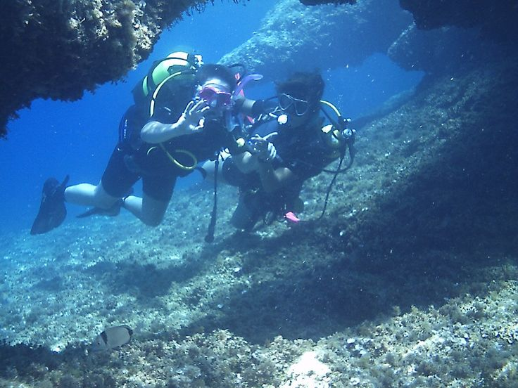 Spend a day in the underwater world scuba diving