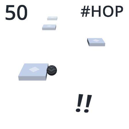 OMG! I made 50 hops in #Hop ! Can you beat my score ? https://itunes.apple.com/app/hop/id1154436120