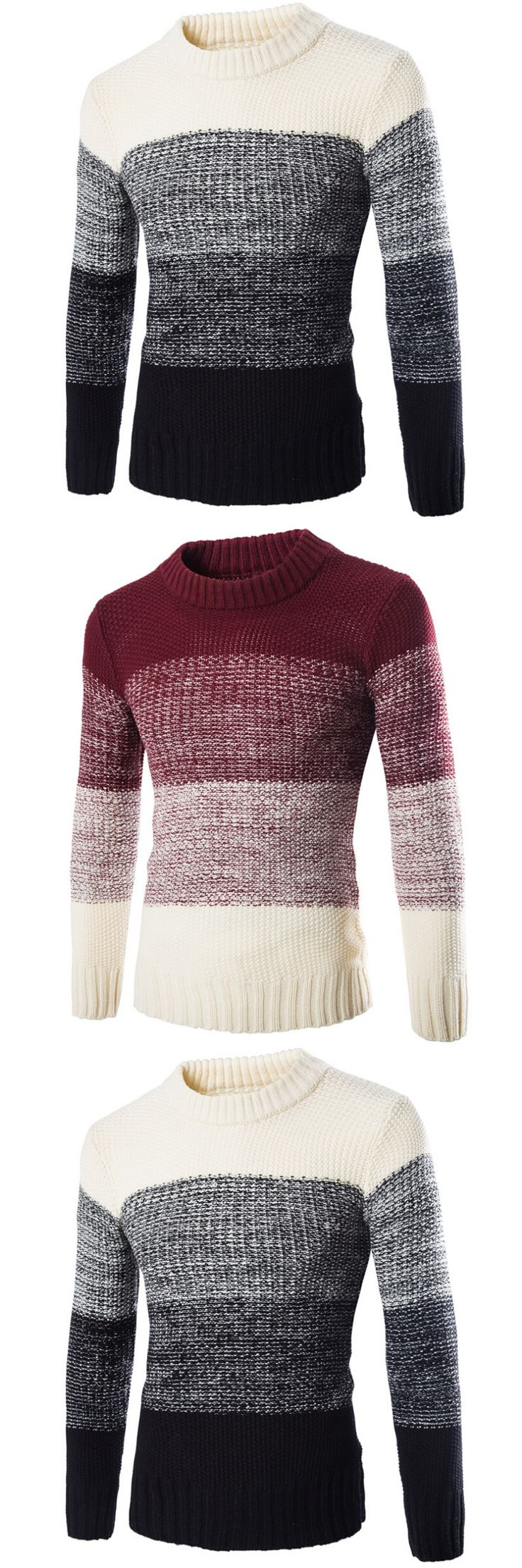 The New Winter Men's Fashion Personality High-Grade Men Hitting Scene Of England 's Pullovers Leisure Men's Cashmere Sweater Men