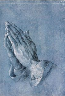 The Praying Hands from Hey Kids, Meet Albrecht Dürer | Biography - http://makingartfun.com/htm/f-maf-art-library/albrecht-durer-biography.htm