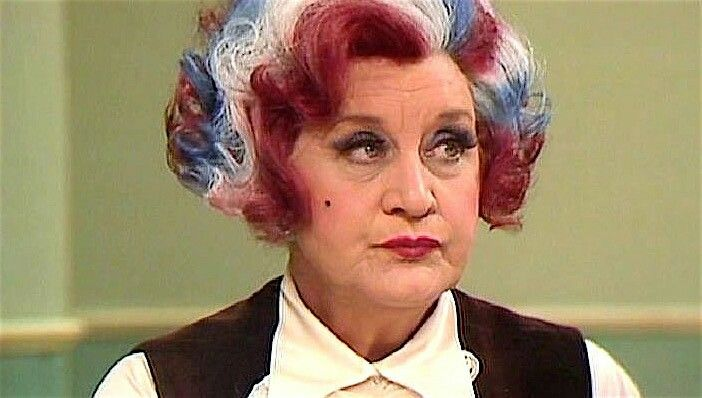 Mollie Sugden (Mrs. Slocumbe)  Are You Being Served?