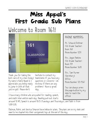 27 best images about substitute field trip stuff on for Field trip lesson plan template