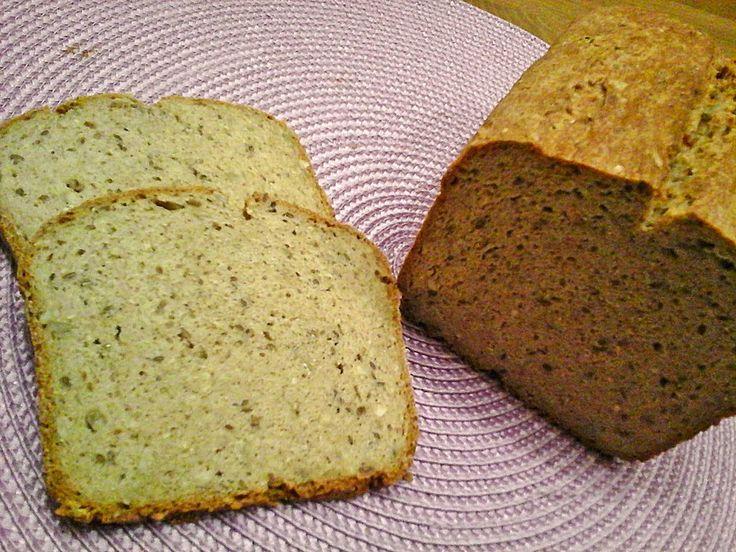 Glutenfreies Ruck-Zuck Joghurtbrot Zutaten 2 Ei(er) 650 gJoghurt 560 gMehl, glutenfreies 2 Pck.Backpulver 2 TL, gestr.Salz 1 TL, gestr.Zucker 2 ELSamen, (Flohsamenschalen) 2 ELÖl