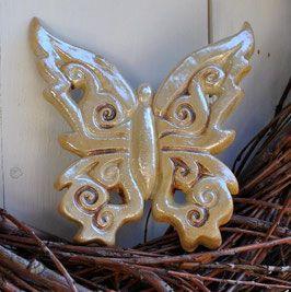 Zauberhafte Keramikschmetterlinge