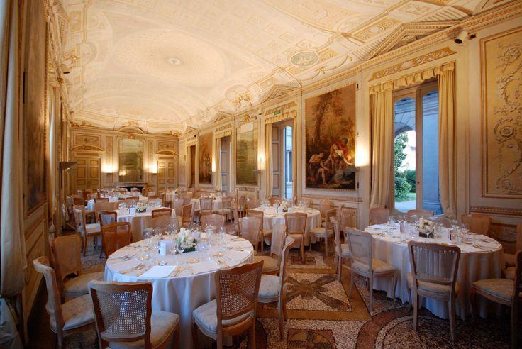 Sala degli specchi Villa Borromeo Cassano d'Adda Milano