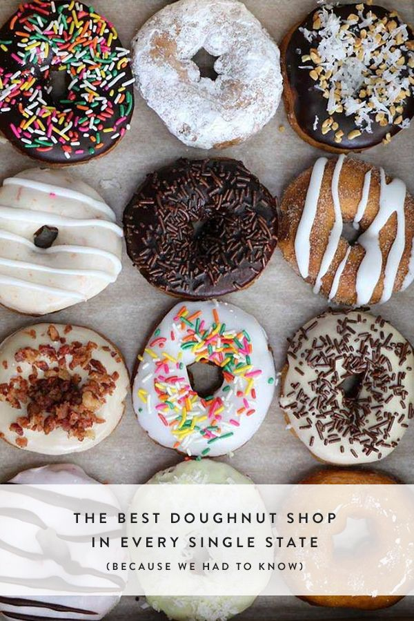 The Best Doughnut Shop in Every Single State (Because We Had to Know) via @PureWow