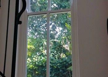 Sliding sash window double glazed