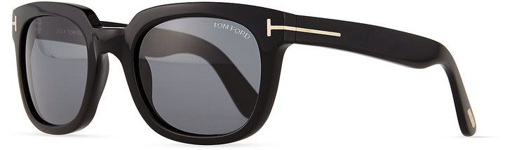 Tom Ford Campbell Metal-Detail Sunglasses on shopstyle.com