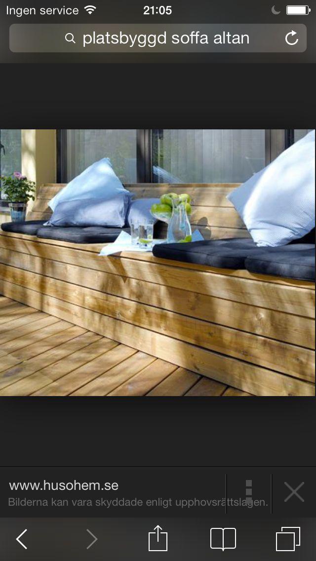 Platsbygga soffa altan - hus och hem