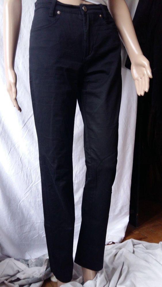 RoccoBarocco Women Straight Leg Black Sequin #twitter#tumbrl#instagram#avito#ebay#yandex#facebook #whatsapp#google#fashion#icq#skype#dailymail#avito.ru#nytimes #i_love_ny #cnn # BBCBreaking #  BBCWorld #  cnnbrk # nytimes # globaltimesnews #     Stretch Cotton Pants Size US 28 #RoccoBarocco #Pants