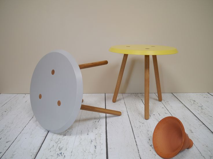 Peg Side Tables by 'Barnby & Day'