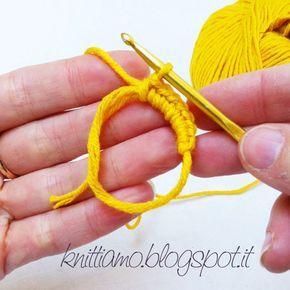 Knittiamo con Martina e Roberta: Come fare l'anello magico all'uncinetto