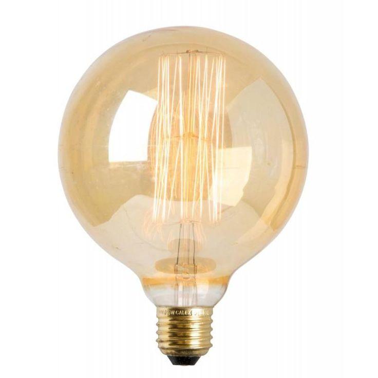 E27 Globlampa Edison 40W