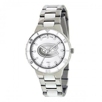 Montreal Canadiens Ladies Pearl Stainless Steel Watch