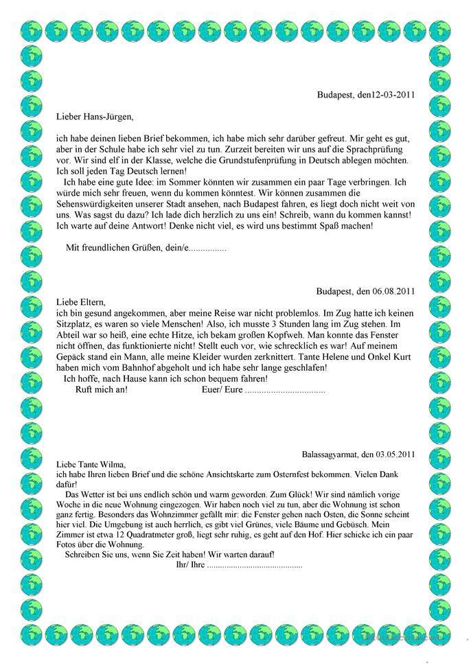 Briefe Schreiben Französisch : Die besten briefe schreiben ideen auf pinterest