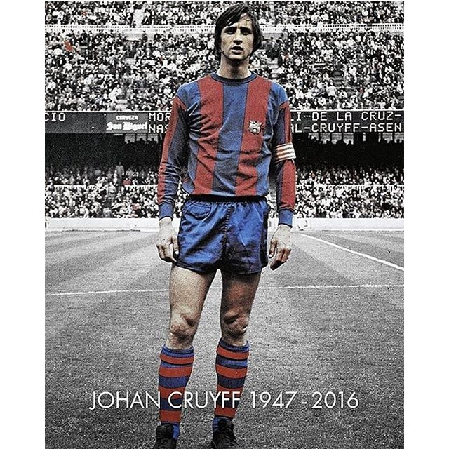 #mulpix Johan Cruyff, one of the best football players of all time died at the age of 68 after battling cancer. RIP dutch legend _ #tag #photo #ronaldo #sports #rip #leonfutbol #football #legend #cristiano #soccer #halamadrid #follow #respect #realmadrid #madrid #manchester #chelsea #likes #respectsoccer #psg #cruyff #fifa #instagram #juventus #bayern #madrid #barcelona #messi #johan #leonrahanaev @respect.soccer