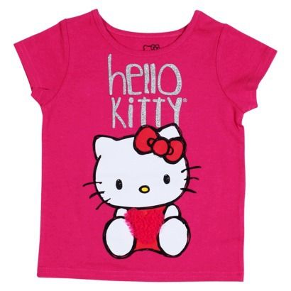 Hello Kitty™ Infant Toddler Girls' Short-sleeve Tee - Fun Pink