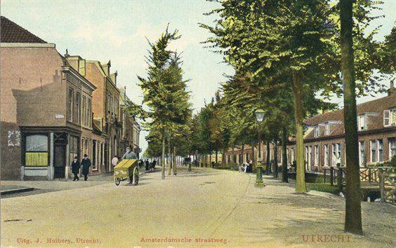 Gezicht in de Amsterdamsestraatweg te Utrecht.1905-1908