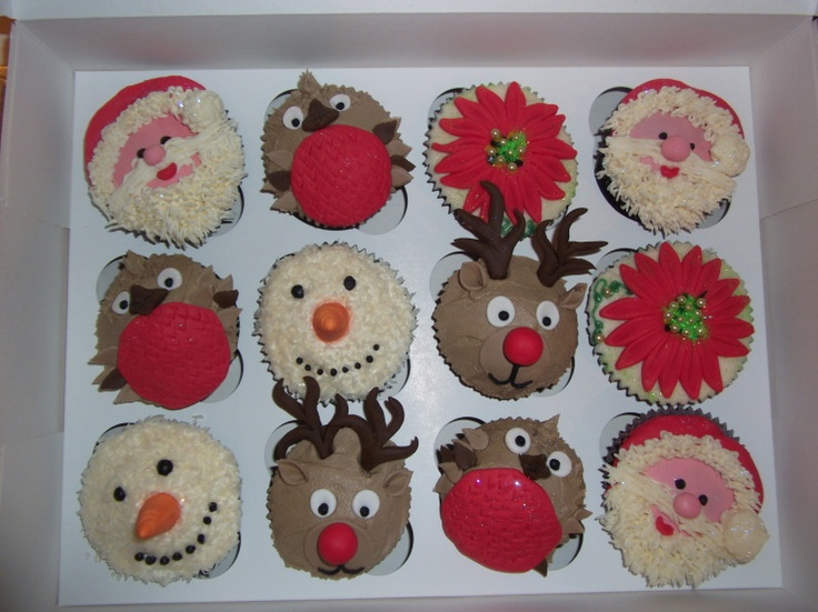 33 best images about Christmas Cupcake Designs on ...