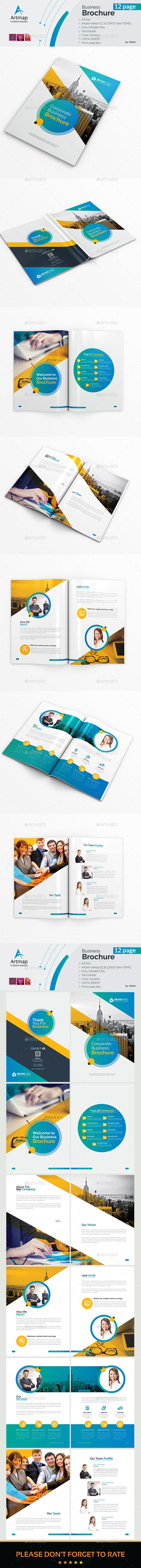 Brochure #fresh #professional  • Download here → https://graphicriver.net/item/brochure/21174509?ref=pxcr