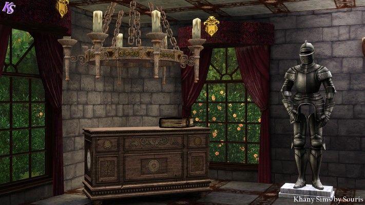 Khany Sims - Set médiéval - Sims 3 - medieval set