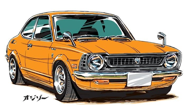 car illustration /  ozizo  ozizo art show