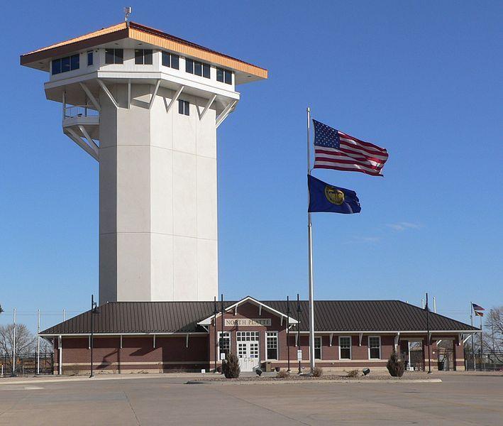 Golden Spike Tower, North Platte, Nebraska - the world's largest railroad classification yard overlooking Union Pacific's Bailey Yard.