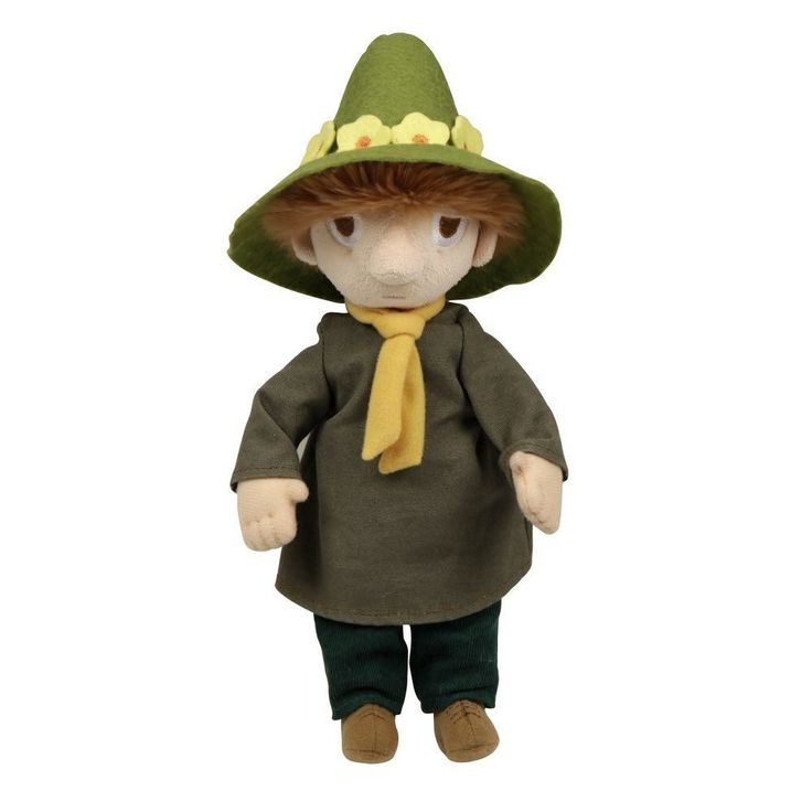 A sweet soft Snufkin plush-toy. Perfect for a cuddling! Take Snufkin with you on your adventures. Size: 30cmIhanan pehmeä Nuuskamuikkunen pehmolelu. Täydellinen halaamista varten! Ota Nuuskamuikkunen mukaan seikkailuillesi.Ett härligt mjukt Snusmumriken mjukdjur. Perfekt för kramar! Ta med Snusmumriken på dina äventyr.