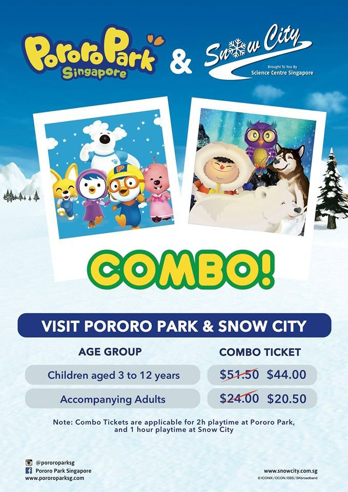 Pororo Park Singapore Combo Tickets - Why Not Deals