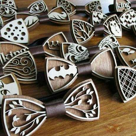Деревянные галстук-бабочки Запорожье - изображение 1