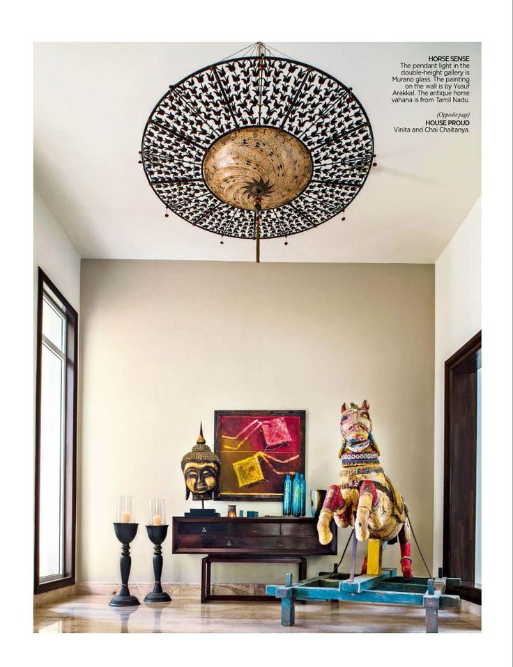 Traditional Indian Home Interiors.