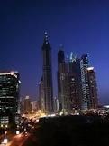Dubai nightscape