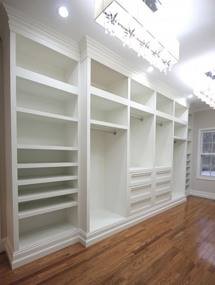 You can never be too rich, too thin or have too much closet space :)
