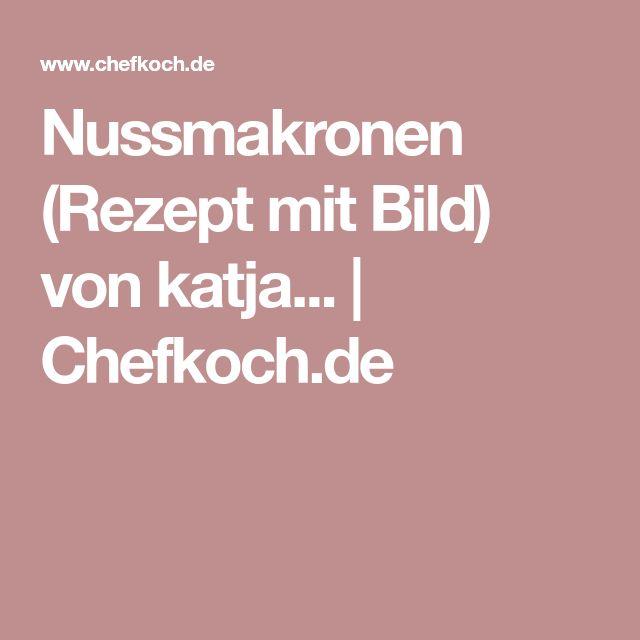 Nussmakronen (Rezept mit Bild) von katja...   Chefkoch.de