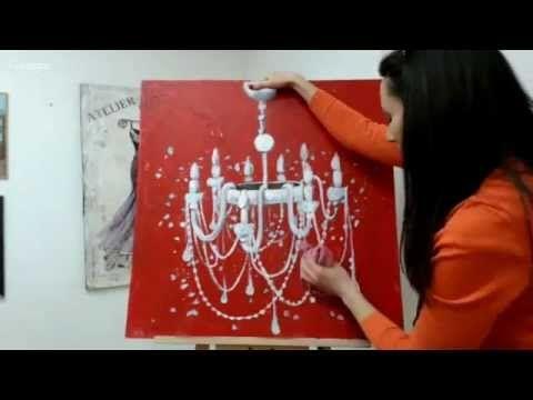 """Base of Art. """"Рисуем праздник"""". Международный Университет Декупажа (09.11.2015) - YouTube"""