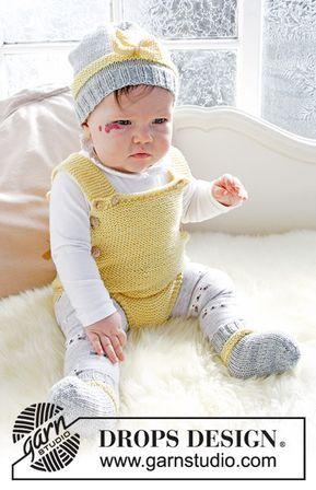 416cf6a2bd0 Strikket body i retstrik til baby. Strikket i et. Størrelse præmatur - 4  år. Arbejdet er strikket i DROPS BabyMerino | børnestrik/hækling | Babytøj,  ...