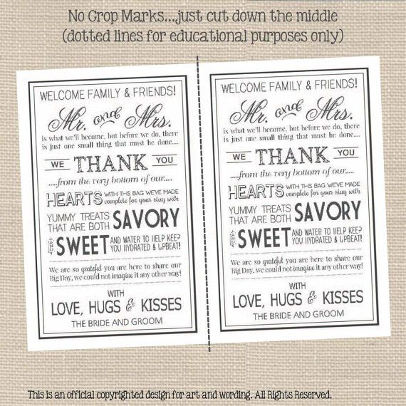 Wedding Welcome Letters Printable // Gray by PrimroseAndPark