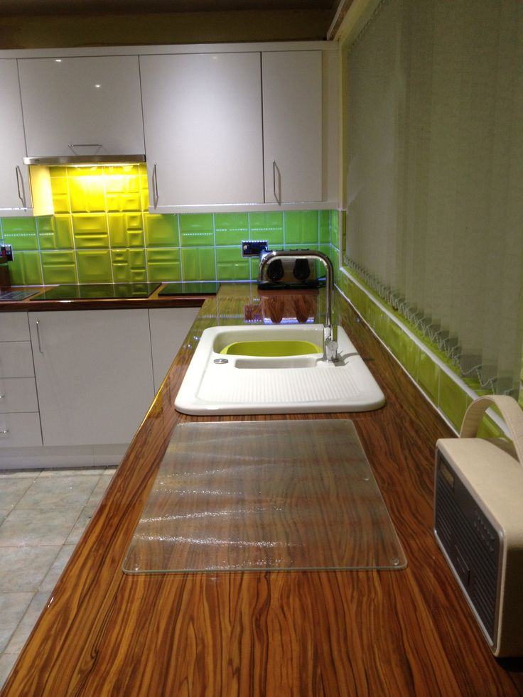 This kitchen look funky to you?