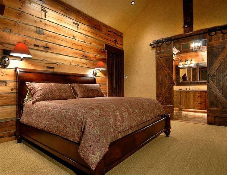 Barn Door Room Divider, Reclaimed Wood Wall