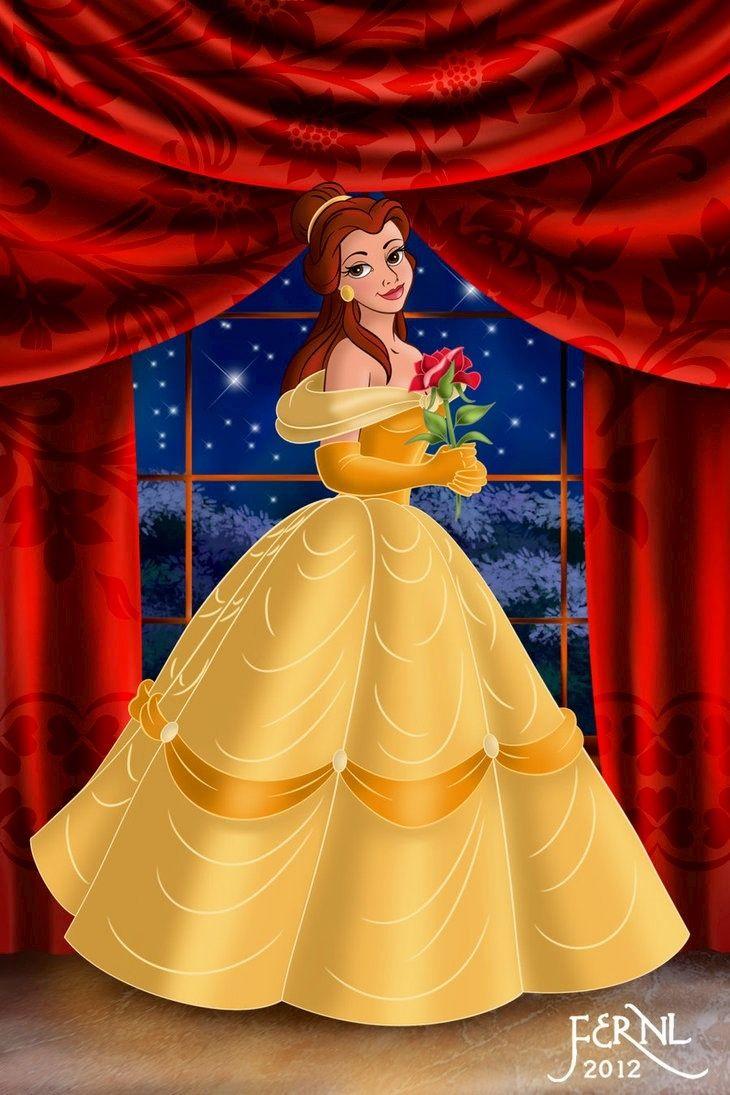 Belle.... I love her dress and her hair! | Disney ...