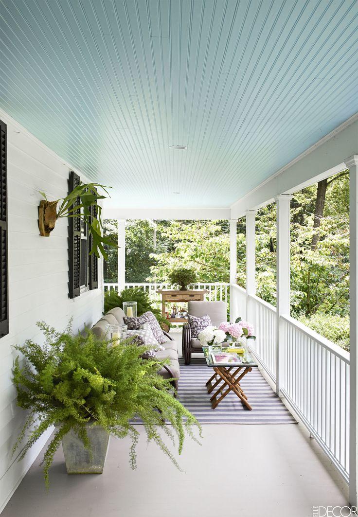 Best 25 haint blue porch ceiling ideas on pinterest for Sofas para porches