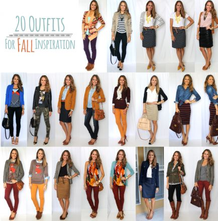 20 Fall Outfits for Inspiration