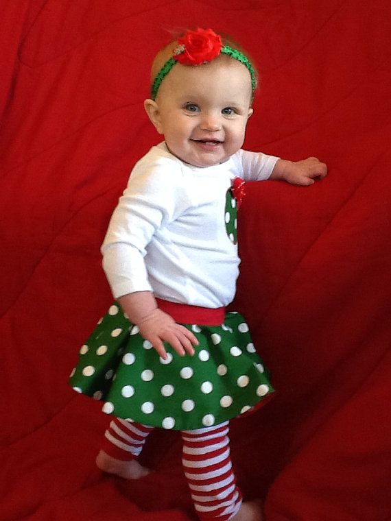 The 25+ best Baby girl christmas outfits ideas on Pinterest ...