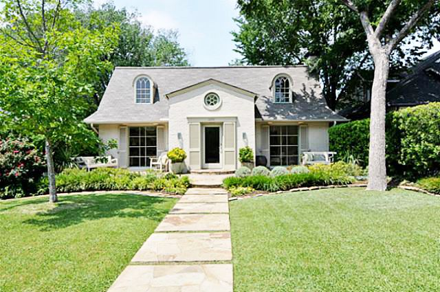 Mod Vintage Life: charming french cottage in Tx