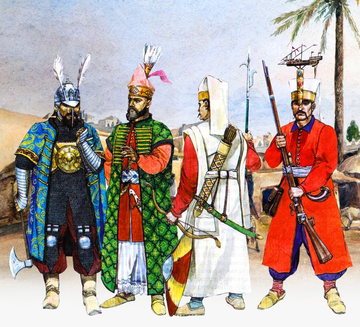 Ottoman Janissaries troops
