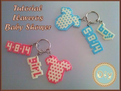 Llavero Baby Shower + Tutorial Hama Beads