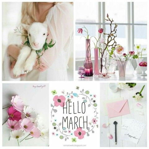 Hello March! Hello Spring!