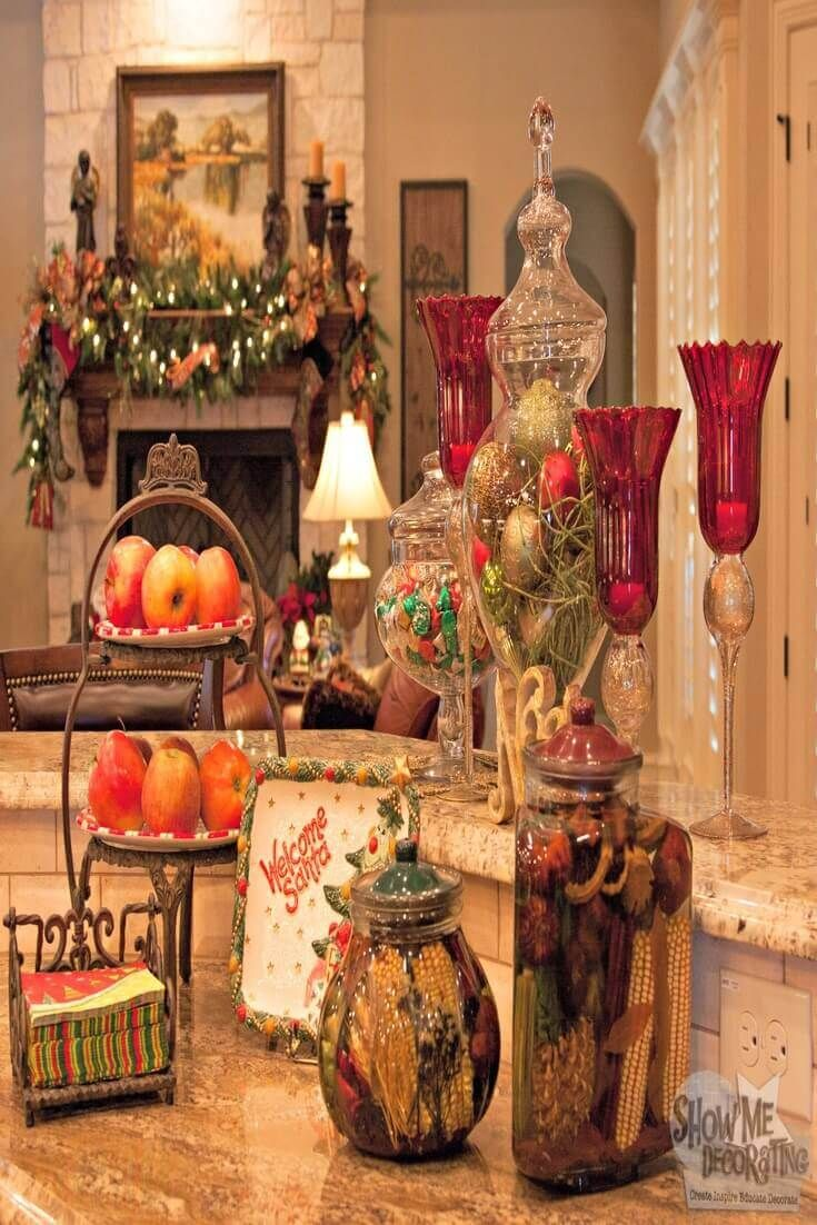 25 best christmas indoor decoration ideas images on for Beautiful indoor christmas decor