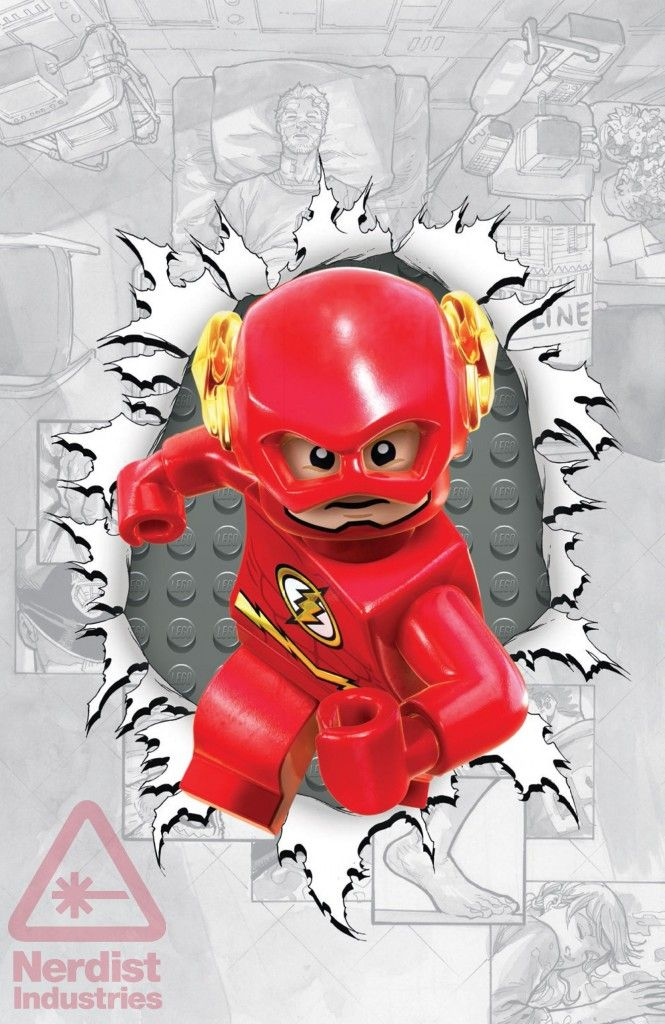 EXCLUSIVE: DC COMICS GOES LEGO WITH THE FLASH, GREEN LANTERN, AND MORE. Turns out that the fine folks over at DC Comics are a bunch of blockheads. No, I'm not calling them stupid, you dummy; rather, they're huge fans of LEGO and they're wearing their love of interlocking bricks on their sleeve this fall with a series of LEGO-inspired covers in support of LEGO Batman 3: Beyond Gotham.